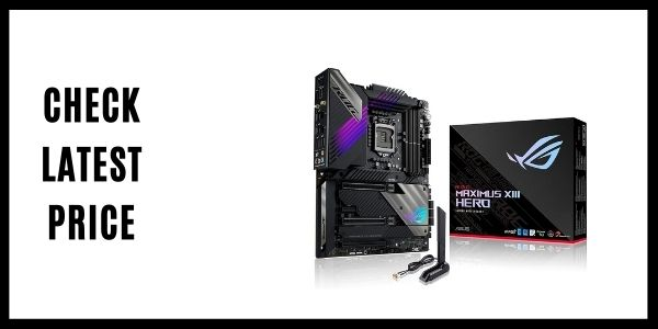 ROG Maximus XIII Hero (WiFi 6E) Z590 LGA 1200(Intel11th10th Gen) ATX Gaming Motherboard