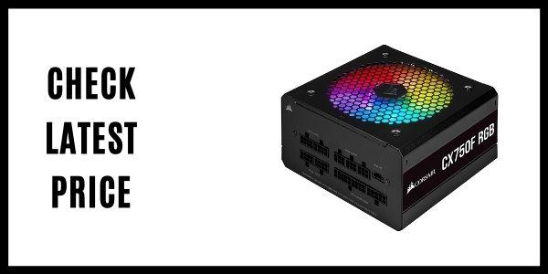 Corsair CX750F RGB Fully Modular RGB Power Supply