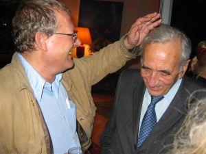 Adam Michnik and Tadeusz Mazowiecki in 2004. © Mariusz Kubik | Wikimedia Commons