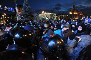 Protesters clash with Police in Kiev, Nov. 29, 2013 © Mstyslav Chernov   mstyslavchernov.com