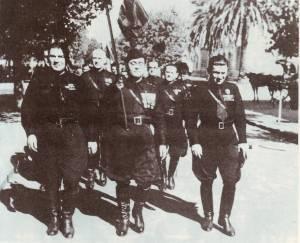 Pre-Peronist fascist march, 1930 © Ricardo Soler   Wikimedia Commons