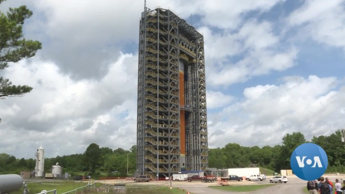 NASA's Marshall Space Flight Center, where new rockets and technology are being tested for future missions to the moon.