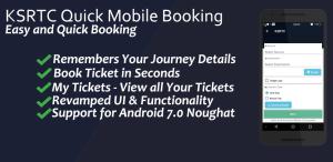 KSRTC Online Ticket Booking Mobile App
