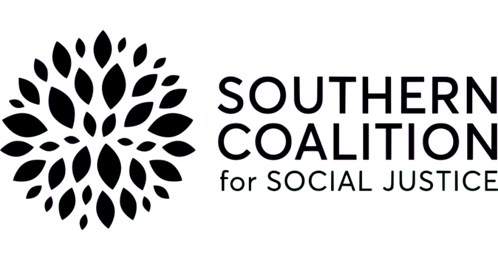 Logo for Southern Coalition for Social Justice