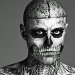 Muere Rick Genest (Zombie Boy), actor y modelo para Lady Gaga