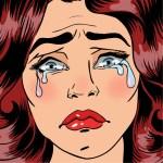 Ridículo llanto hormonal