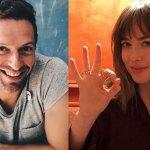 Chris Martin y Dakota Johnson celebran su ¿embarazo?