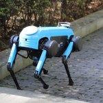 Este perro robot chino corre, sube escaleras y mueve objetos de 20 kilogramos