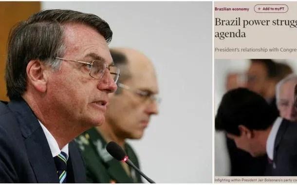 Jair Bolsonaro e matéria do Financial Times