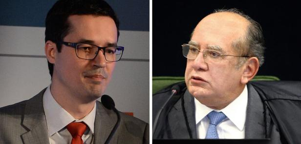 Deltan Dallagnol e Gilmar Mendes