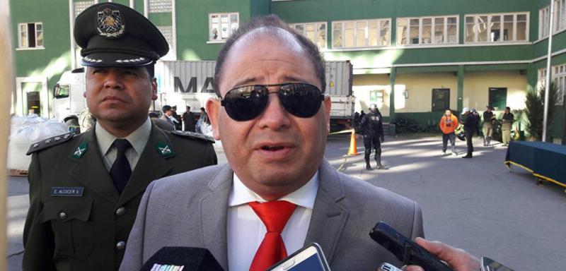 Resultado de imagem para Ex-ministro da Bolívia é detido