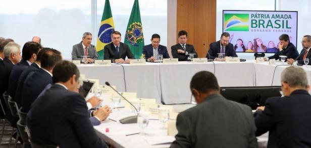 A reunião ministerial de 22 de abril