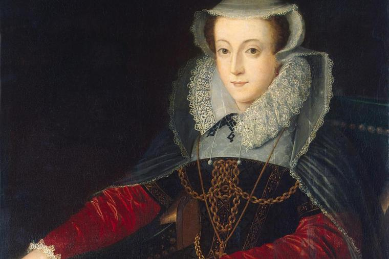portrait of Mary Queen of Scots.