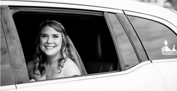 Late night wedding limo service