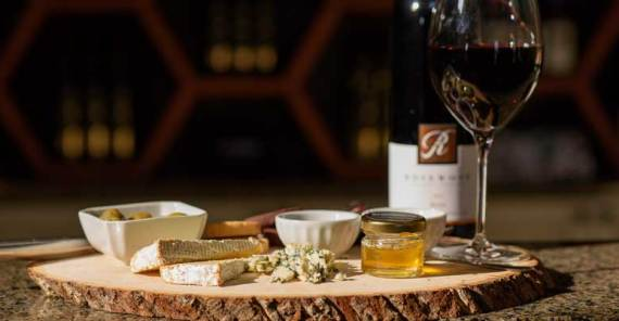 Enjoy a charcuterie board filled with local cheases & meats while touring the winery
