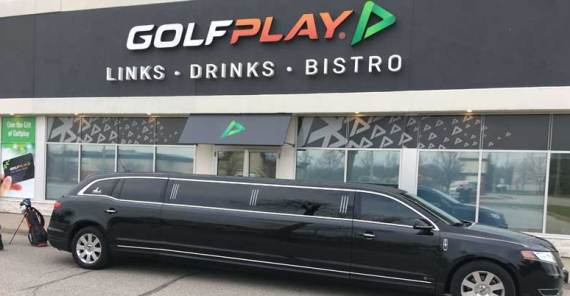 Enjoy your unforgettable VIP Golf experience with Chauffeured Limousine
