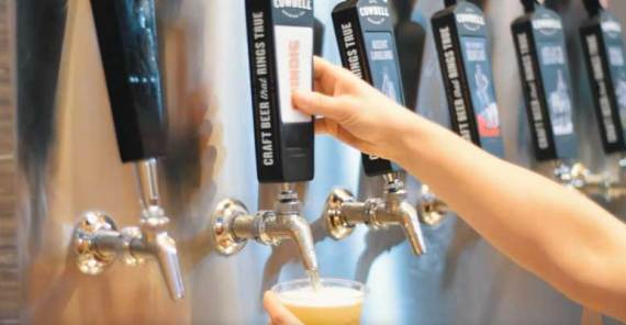 unique Canadian destination craft brewery that features a state-of-the-art brewing facility