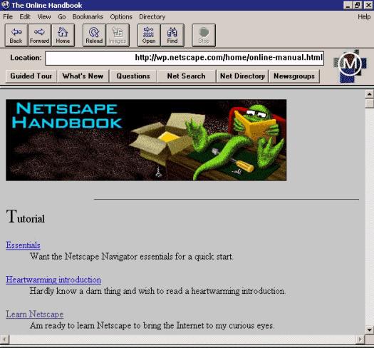 Netscape 0.9