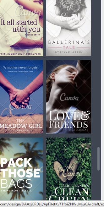 Compare The Ones Above With These Hideous Covers From Kindle Cover Design Templates On Amazon