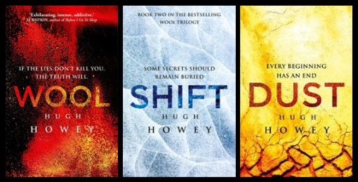 Wool trilogy Random House covers