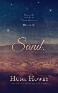 Sand omnibus by Hugh Howey, cover by Jason Gurley