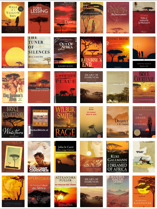 cover art african titles