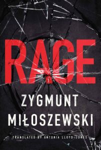 Cover art for the AmazonCrossing translation of Zygmunt Miłoszewski's 'Rage' is by M. S. Corley.