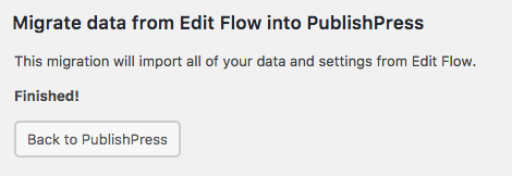 EditFlow successfully migrated to PublishPress