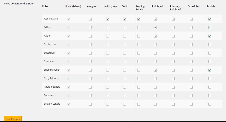 Set up User Roles
