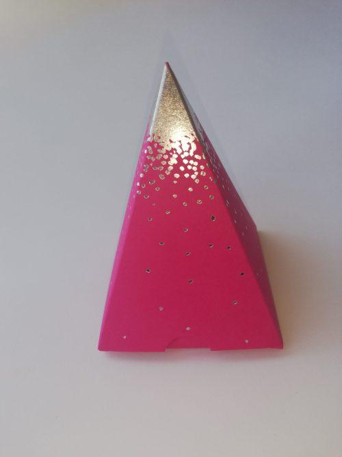 Contenant pyramide pluie d'étoile - Belleville en beaujolais