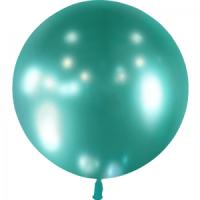 Ballon métallique Vert 60cm