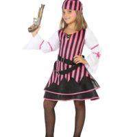 déguisement pirate rose et noir