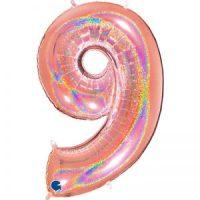 ballon aluminium 9