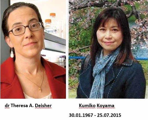 Dr Theresa A. Deisher i Kumiko Koyama