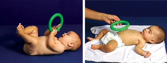 Typowy i nietypowy rozwój 6-miesięcznego dziecka - na plecach