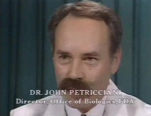 Dr John Petricciani (FDA)