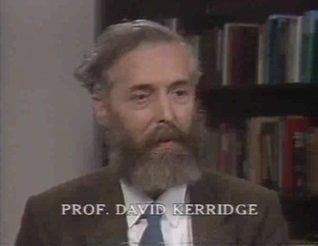 Prof. David Kerridge