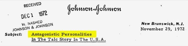 """A. Langer i J. Kretchmer znaleźli się na wewnętrznej liście firmy J&J """"antagonistycznych osobowości"""""""