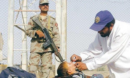 Przypadek polio zgłoszony w Peszawarze w Pakistanie