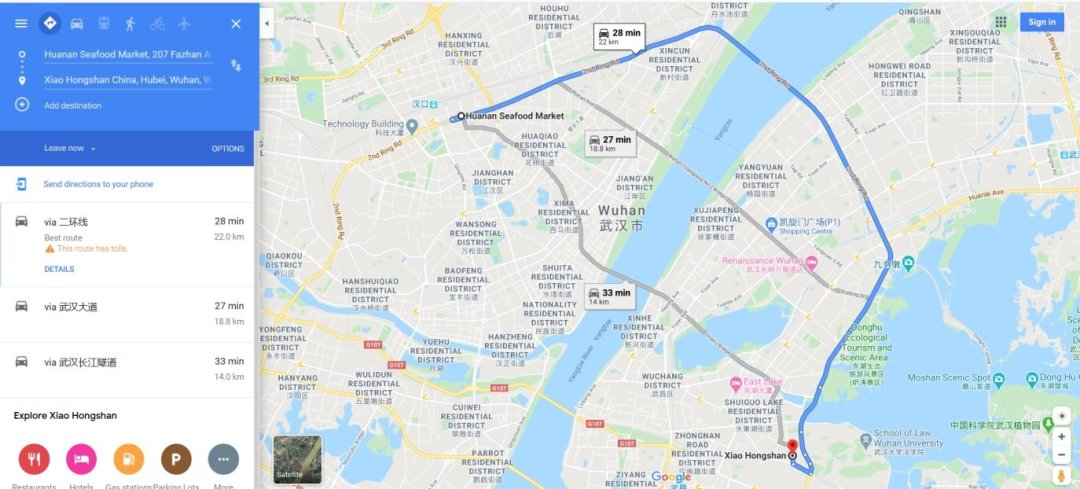 Rynek owoców morza w Wuhan i laboratorium BSL-4