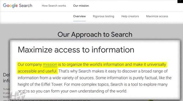 Porządkuj informacje ze świata i spraw by były powszechnie dostępne i użyteczne