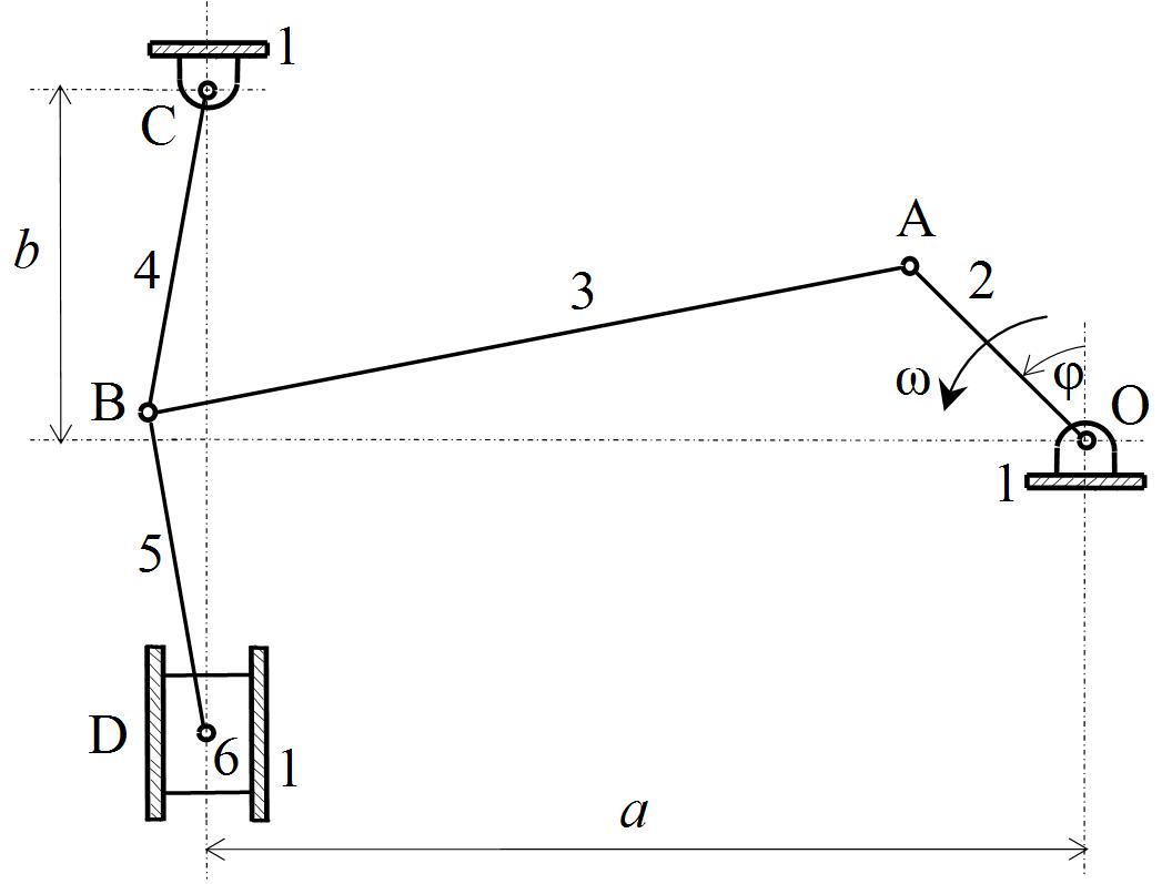 Figures Index Kinematicysis Of The Press Mechanism