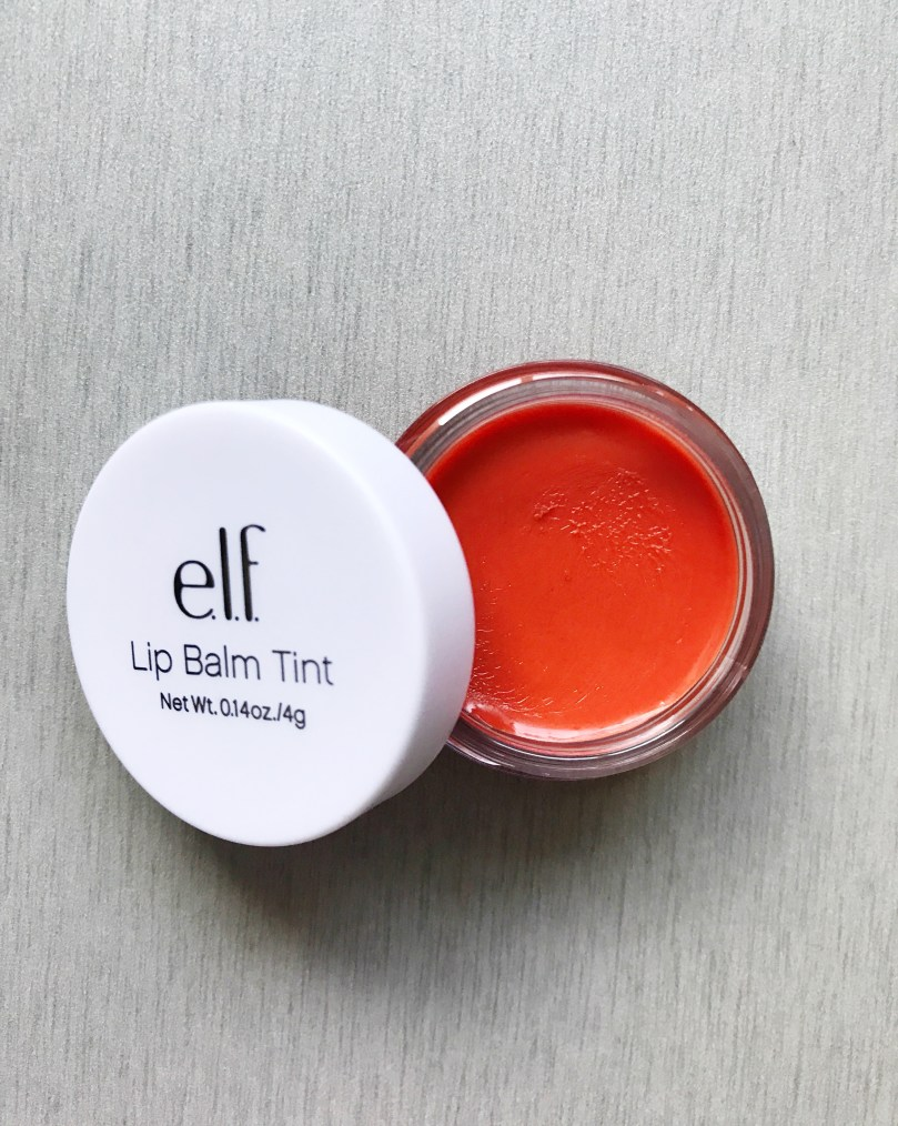 Tinted Lip Balm in the Color Peach