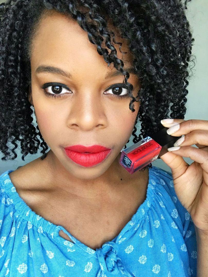 Smashbox Always on Liquid Lipstick in Bawse