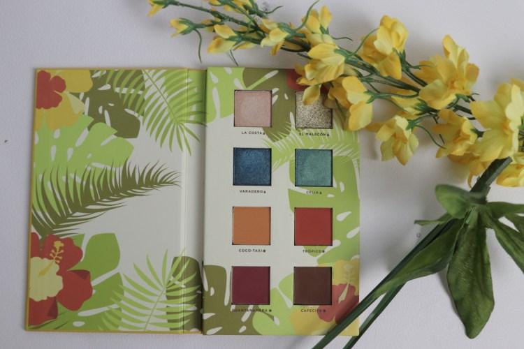 Boxycharm June 2018 - Alamar Reina del Caribe Eyeshadow Palette