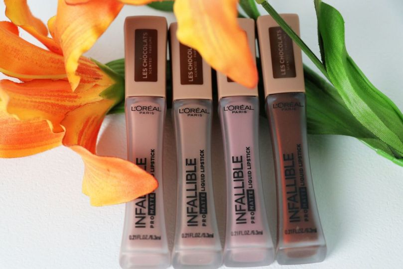 L'Oreal Infallible Pro Matte Liquid Lipsticks | Les Chocolats