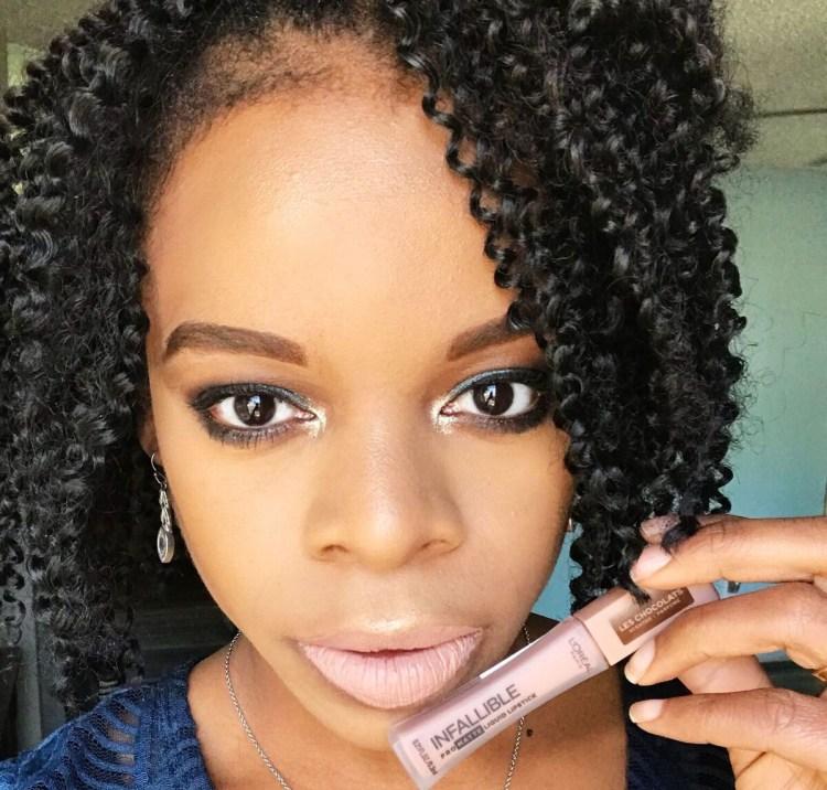 L'Oreal Infallible Pro Matte Scented Liquid Lipsticks - Dose of Cocoa
