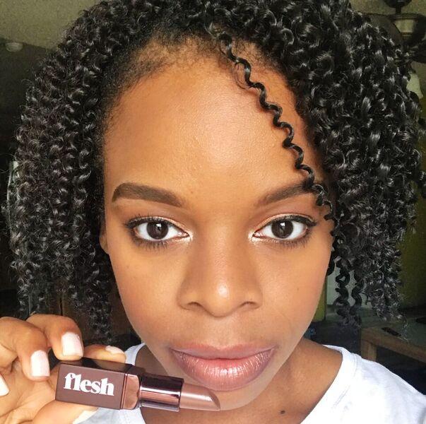 Fleshy Lips Gorge Lipstick - Sheer Warm Brown