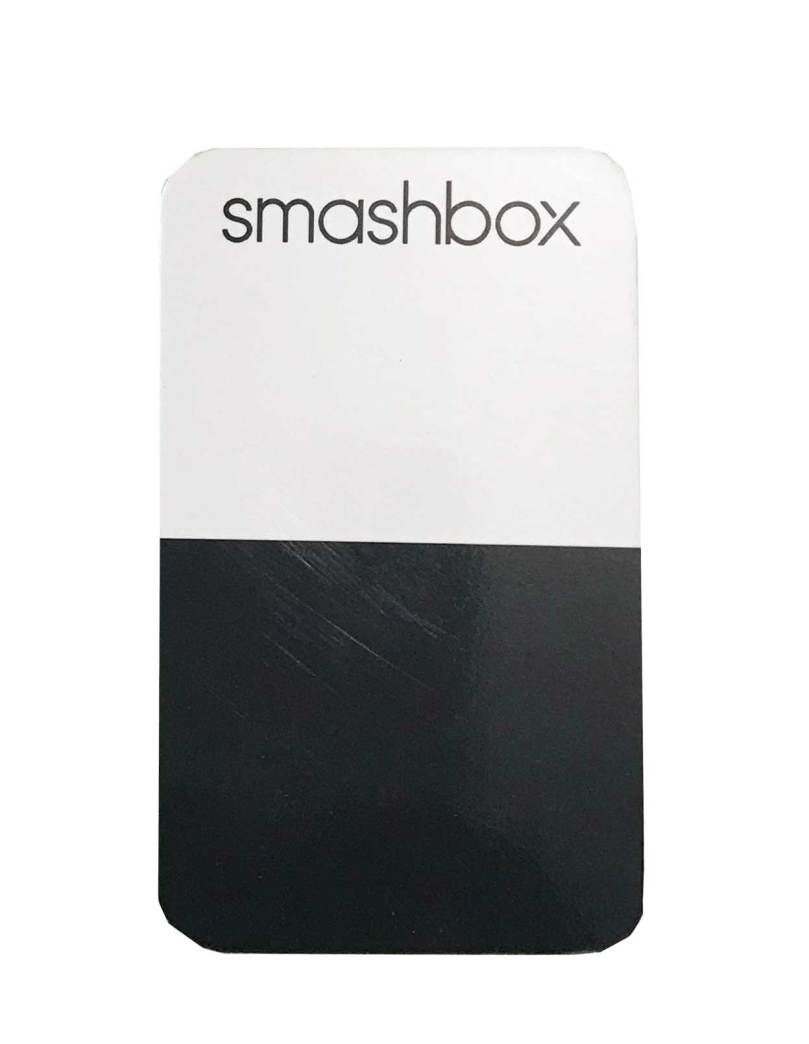 Smashbox Be Legendary Neutral Lip Palette Mixing Card