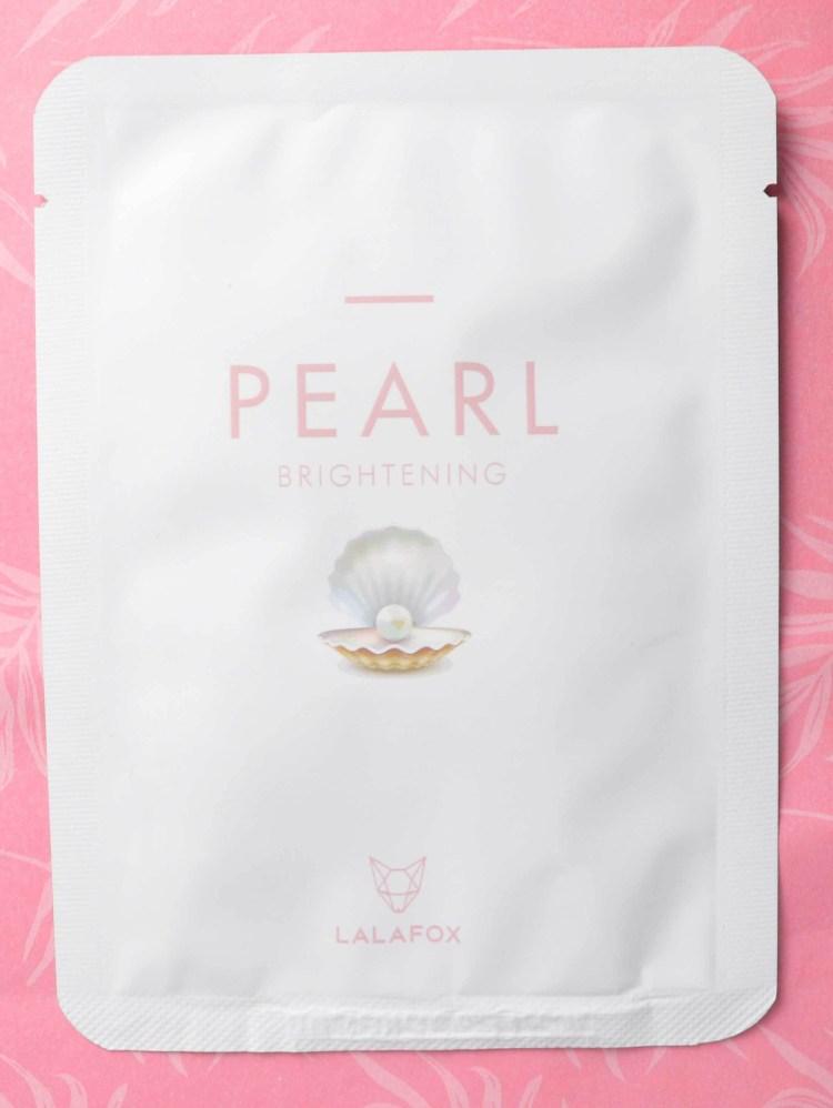 LALA Fox Pearl Brightnening Daily Skin Mask